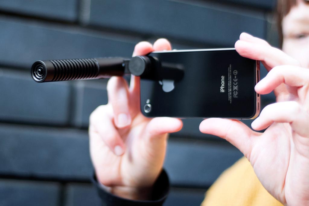 micro pour smartphone rode